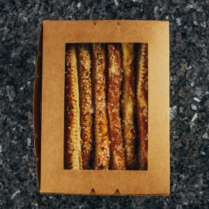 Bread sticks with cheese and herbs 300g